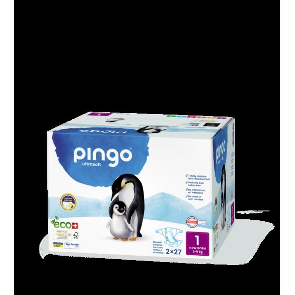 Pingo Newborn (2-5 kg) Karton (2 x 27 STK)