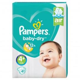 Pampers Baby-Dry Gr.4+ Maxi Plus (10-15 kg) Sparpack (41 STK)