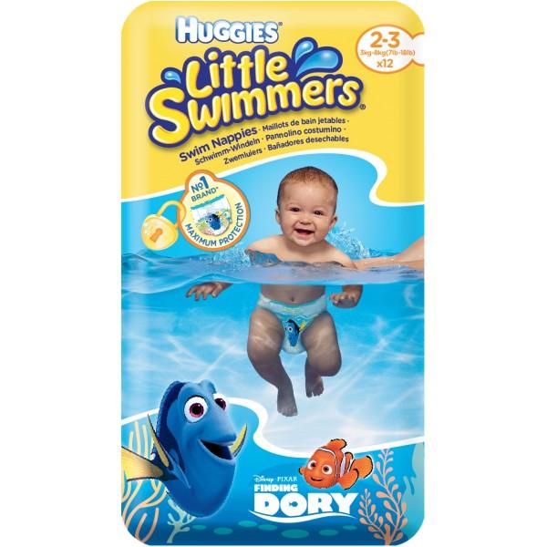 Huggies Schwimm-Windeln Grösse 2-3 (3-8 Kg) 12 STK