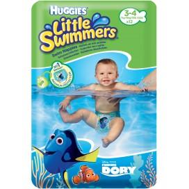Huggies Schwimm-Windeln Grösse 3-4  (7-15 Kg) 12 STK