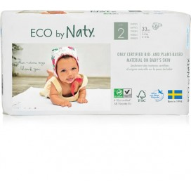 Naty Biowindeln Mini (3-6kg) Beutel (33 STK)