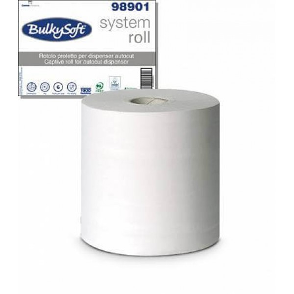 Papierhandtuch-Rolle 3-lagig 100 lfm (6 STK)