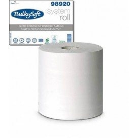 Papierhandtuch-Rolle 2-lagig 150 lfm (1 STK) 21cm Breite 18cm Durchmesser