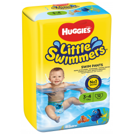 Huggies® Little Swimmers® taille 3-4 (7-15 kg) 12 pces