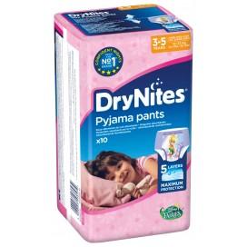 Huggies DryNites® Pyjama Pants Girl 3-5 Jahre (16-23 kg) Beutel (10 STK)