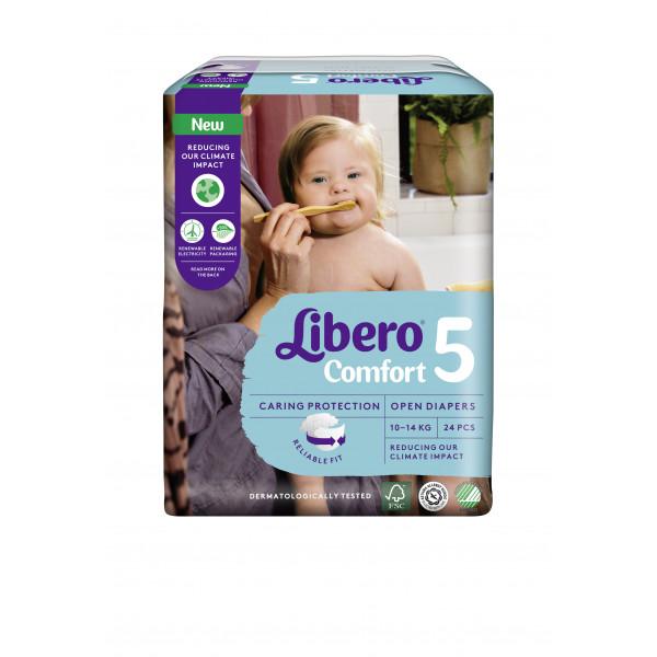 Libero Maxi+ T5 (10-14 kg) Beutel (24 STK)