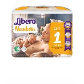 Libero Newborn (2-5 kg) Beutel (28 STK)