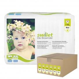 Swilet - Die Biowindel Gr.4 Maxi (7-18kg) Karton (6 x 28 STK)