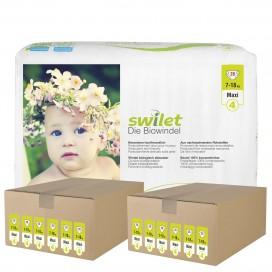Swilet - Die Biowindel Gr.4 Maxi (7-18kg) 2er Karton (12 x 28 STK)