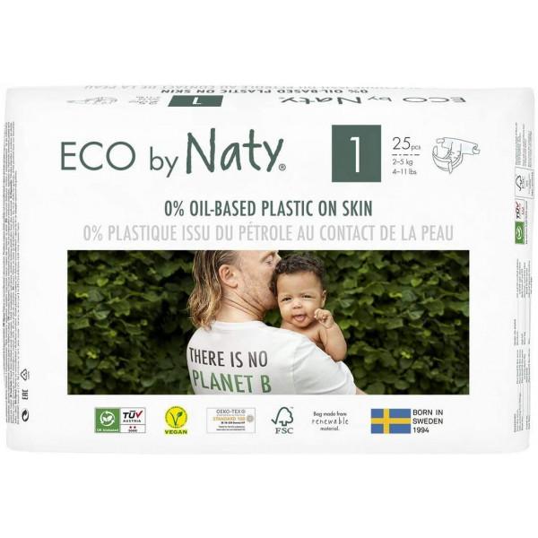 Naty Biowindeln Newborn (2-5kg) Beutel (25 STK)