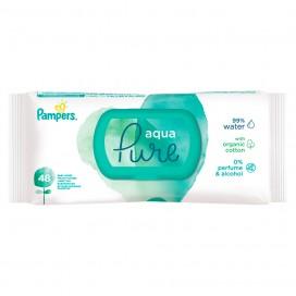 Pampers Aqua Pure Feuchttücher Beutel (48 STK)
