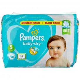 Pampers Baby-Dry Gr.5 Junior 11-16kg Dreier-Pack / Maxi Pack (90 STK)