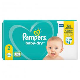 Pampers Baby-Dry Gr.2 Mini 4-8kg (60 STK) Sparpack