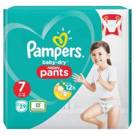 Pampers Baby-Dry PANTS Gr. 7 XXL +17kg Beutel (29 STK)