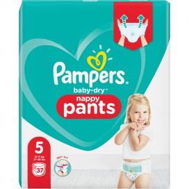 Pampers Baby-Dry PANTS Gr. 5 Junior 12-17kg Beutel (37 STK)