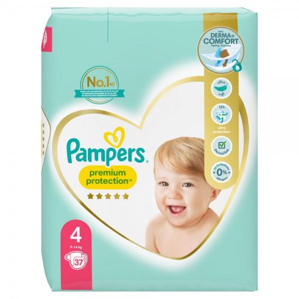 Pampers Premium Protection Gr.4 Maxi 9-14kg Sparpack (37 STK)