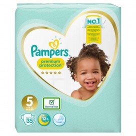 Pampers Premium Protection Gr.5 Junior 11-16kg Sparpack (35 STK)