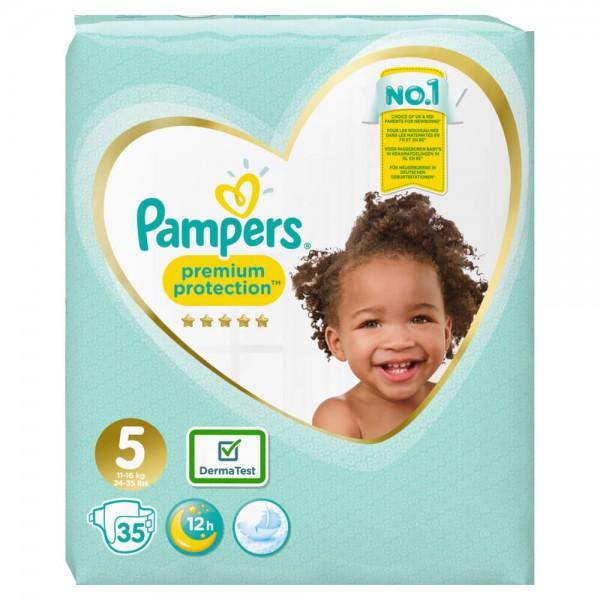 Pampers Premium Protection Gr.5 Junior 11-16kg Sparpack (35 STK)