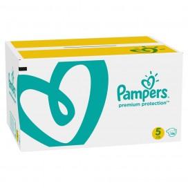 Pampers Premium Protection T5  Junior 11-16kg Pack mensuel (136 pces)