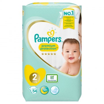 Pampers Premium Protection Gr.2 Mini 4-8kg Sparpack (54 STK)