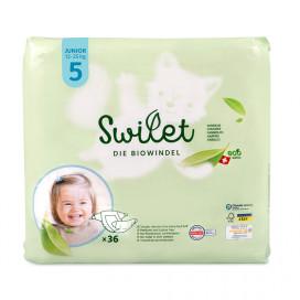 Swilet - Die Biowindel Gr. 5 Junior 12-25Kg (36 STK) Beutel
