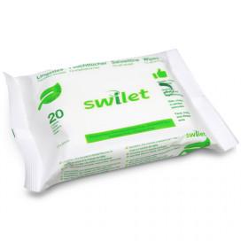Swilet Lingettes pour visage&corps BIO (20 pces)