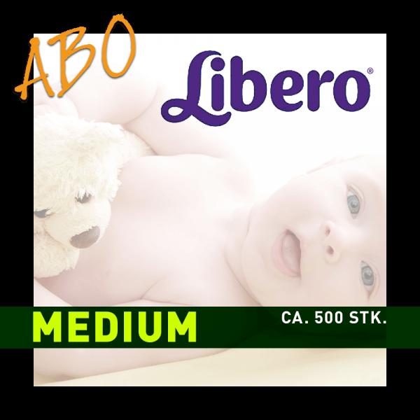 Windelabo LIBERO MEDIUM-MITTEL | ca. 500 Stk.