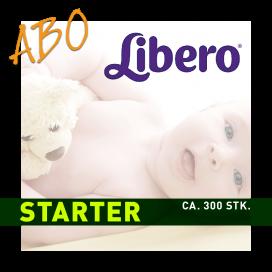 Windelabo LIBERO STARTER-KLEIN | (ca. 300 Stk.)