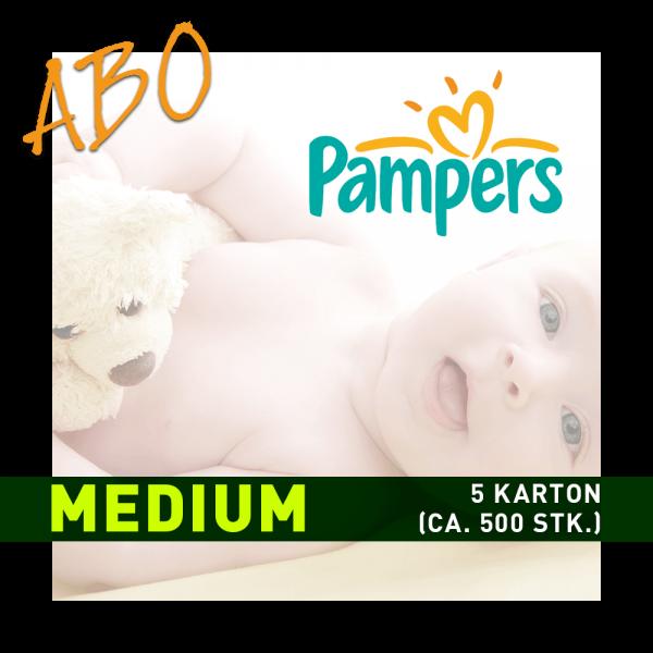 Windelabo PAMPERS MEDIUM - MITTEL | ca. 600 Stk.