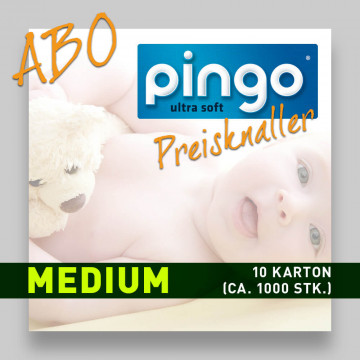 Windelabo PINGO MEDIUM-MITTEL | ca. 1000 Stk.