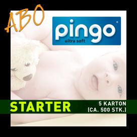Windelabo PINGO STARTER-KLEIN | 5 Karton (ca. 500 Stk.)