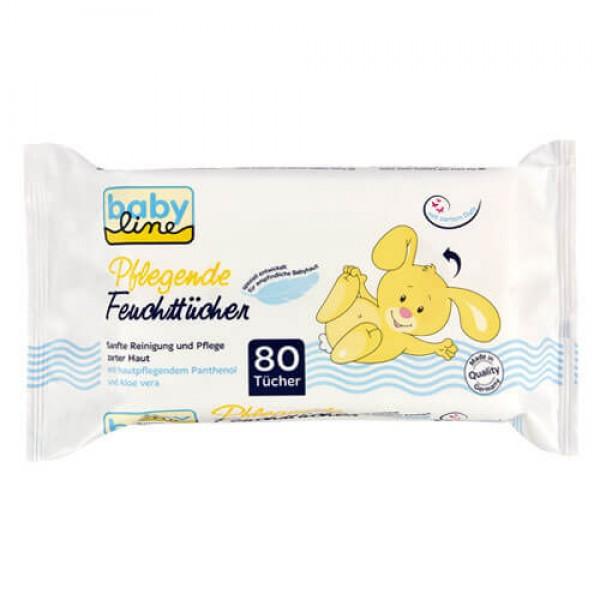 Babyline Comfort - Pflegende Feuchttücher (80 STK)