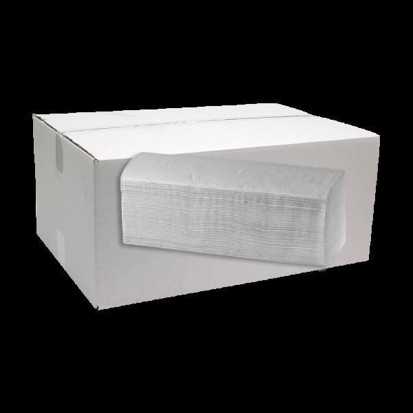 Papierhandtücher RECYCLING 1-lagig Karton (25x Bund à 180 Blatt) Z-Falz