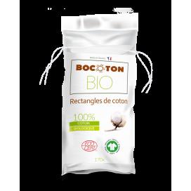 Bocoton Cotopads Bio Lingettes Sèches Fines 80x100mm (170 pces)