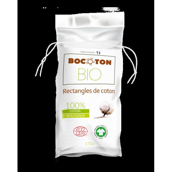 Bocoton Cotopads Extra Sanfte Bio Wattetücher 80 x 100mm (170 STK)