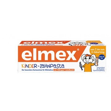 Elmex Kinder-Zahnpasta - 2- 6 Jahre (50 ml)