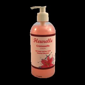 Handreinigungs-Cremeseife Fleurelle 500ml mit Dispenser