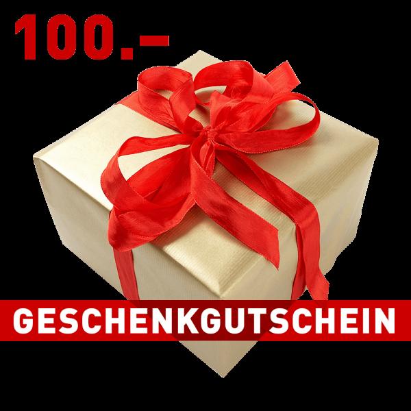 Geschenkgutschein CHF 100.–