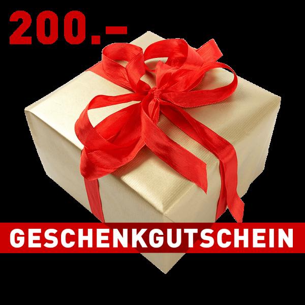 Geschenkgutschein CHF 200.-