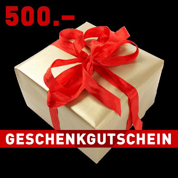 Geschenkgutschein CHF 500.–