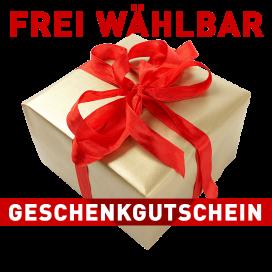 Geschenkgutschein Betrag frei wählbar