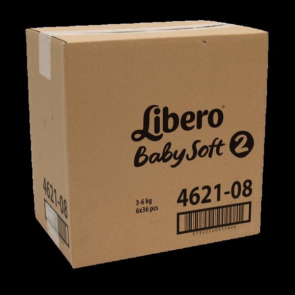 Libero Mini (3-6 kg) Karton (6 x 36 STK)