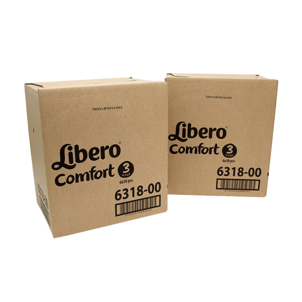 Libero Midi (5-9 kg) 2er Karton (2 x 6 x 30 STK)