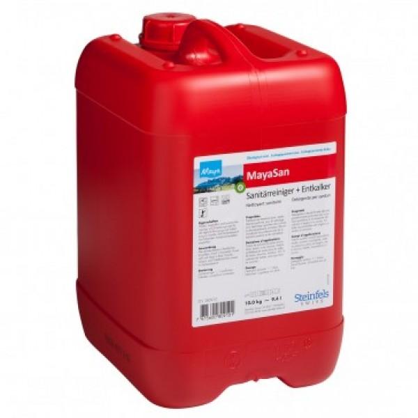 Sanitärreiniger & Kalkentferner MayaSan 10kg Kanister
