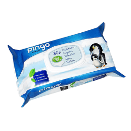 Pingo Feuchttücher Beutel (80 STK)