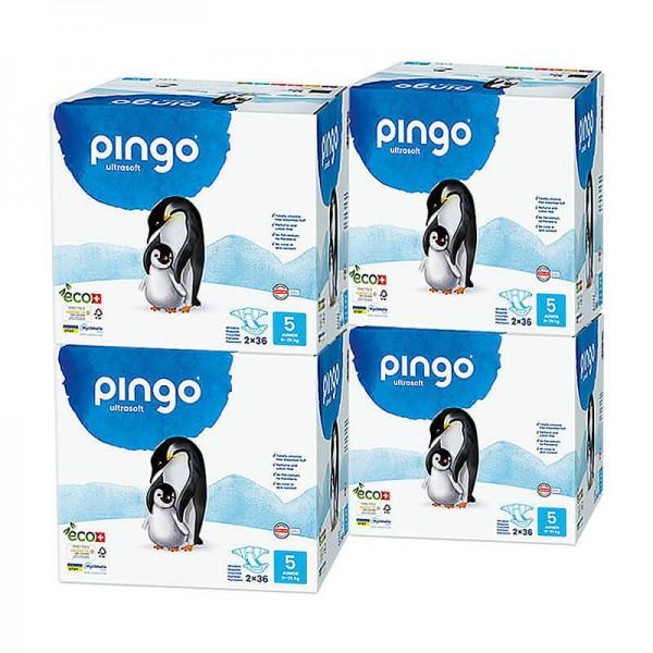 Pingo Junior (12-25 kg) 4er Karton (4 x 2 x 36 STK)
