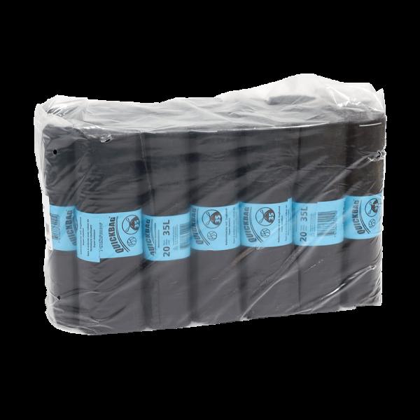 Abfallsäcke Grosspackung Quickbag 35L (20 Rollen à 20 STK)