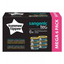 Sangénic TEC Ersatzkassetten mit Zitrusduft  (6 STK)