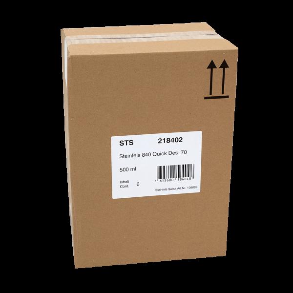 Désinfectant rapide 840 Quick - Des 70 (6 x 500ml)