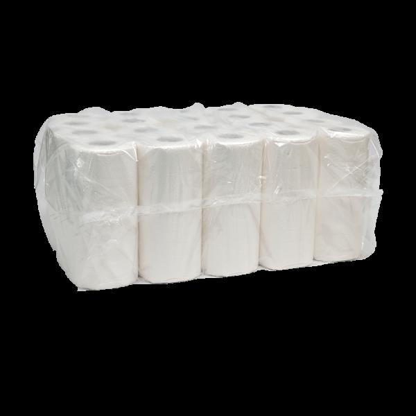 WC - Papier 4-lagig 100% Zellstoff 150 Blatt (60 Rollen)